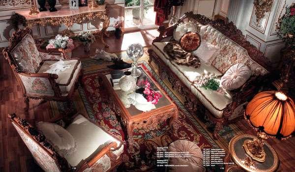 Купить Диван в Элит-класса Pergamena от фабрики Asnaghi Interiors