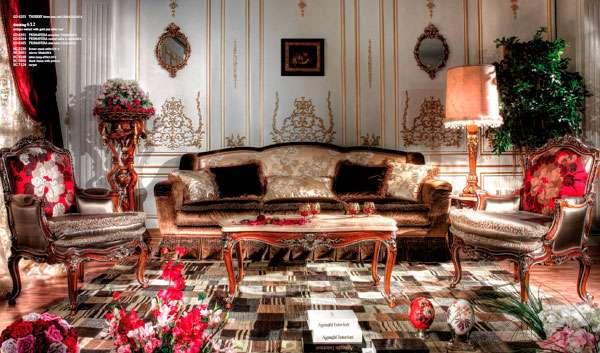 Мягкий итальянский диван Primavera. Фабрика Asnaghi Interiors