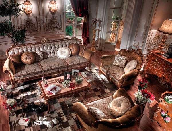 Купить Королевский диван Savoie Asnaghi Interiors коричневого цвета
