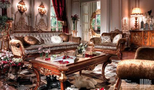 Диван Savoie коричневого цвета. Элитная мебель