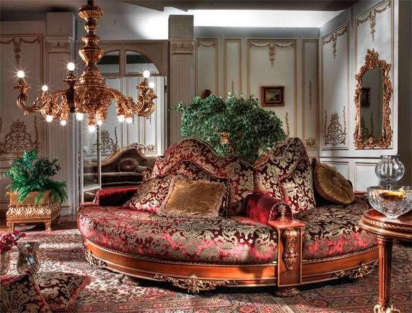 Эксклюзивный диван круговой формы Asnaghi Interiors