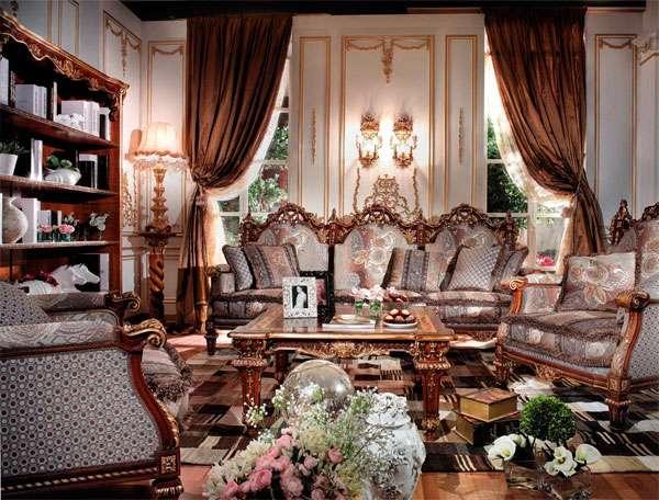 Дорогой диван Versailles ASNAGHI INTERIORS