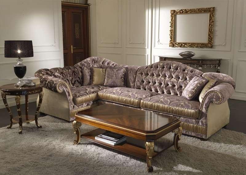 Угловой итальянский диван 2877