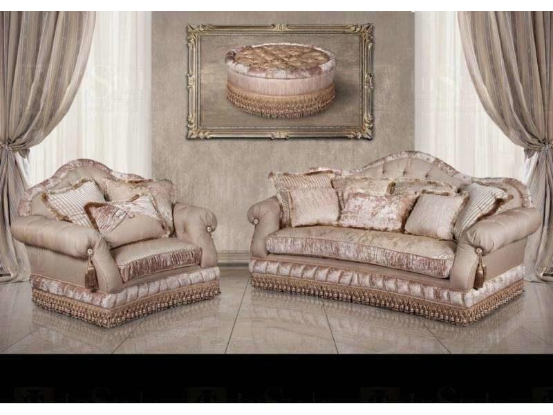Дорогой элитный комплект мягкой мебели Джульета, Америка