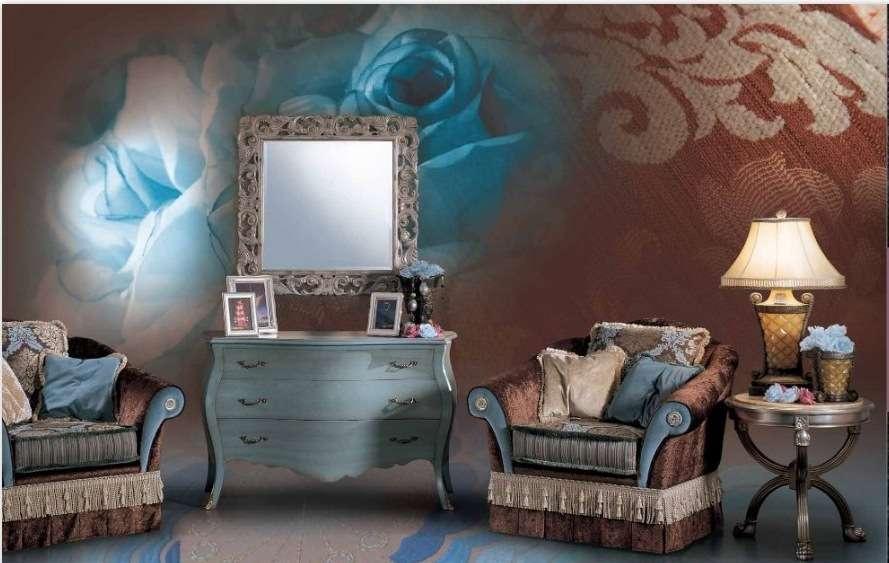Кресло е элитному итальянскому дивану Саммертайм