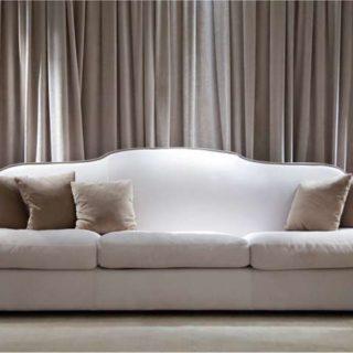 Классический итальянский белый диван DIPLOMAT