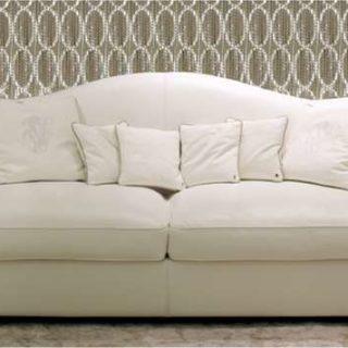 Белый четырехместный диван Лестер. Италия