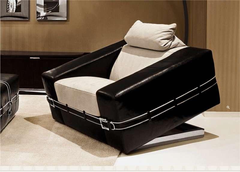 Четное кресло Coupe в стиле Арт-Деко. Италия