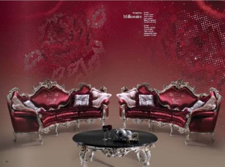 Дорогой большой классический диван Миллионер