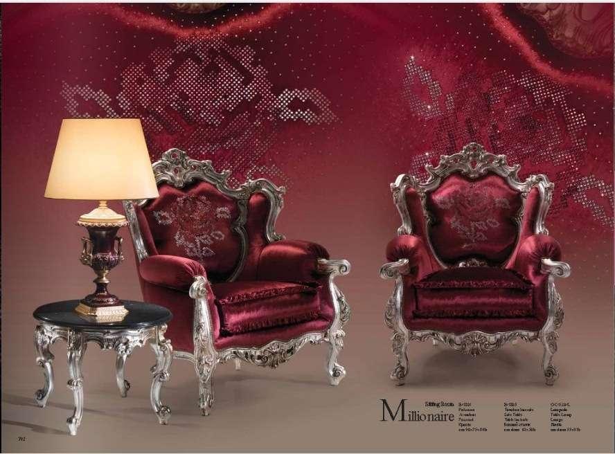 Кресла в мягкий мебельный комплект Миллионер. Италия.