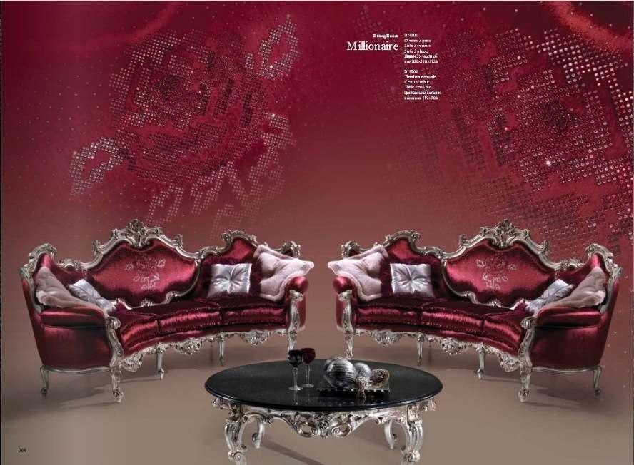Элитный красный диван Миллионер