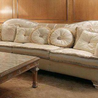 Белый диван 2628 в стиле Арт деко от Cappi Style