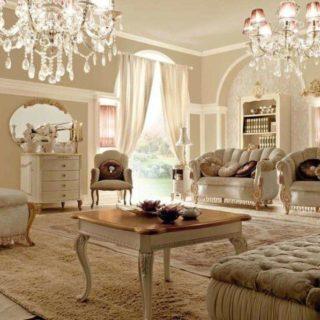 Белая элитная мягкая мебель VIP ART, ALTA MODA