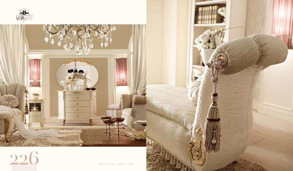Дорогая коллекция мягкой мебели VIP APT