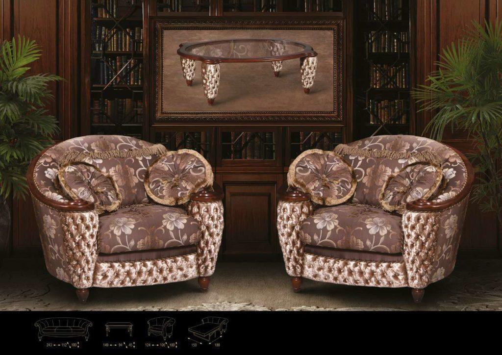 Мягкие глубокие кресла Хеннесси. Эпоха стиля.