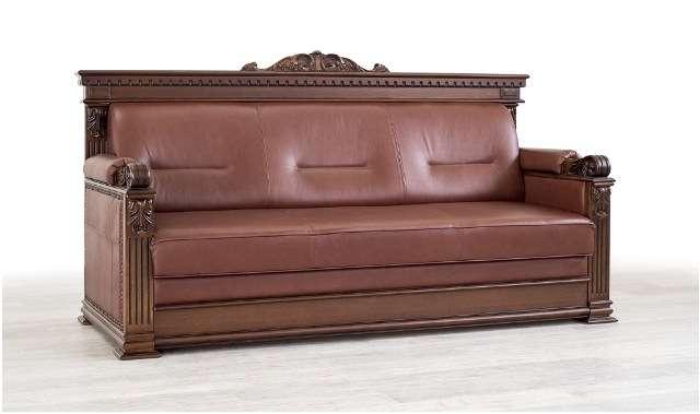 Коричневая мягкая мебель Лемберг. Мебус.