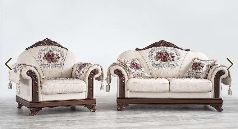 Классический элитный диван из массива бука Танго.