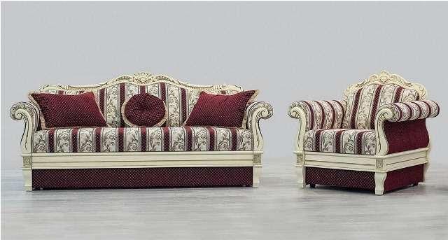 Дорогой комплект классической мягкой мебели Галиция.
