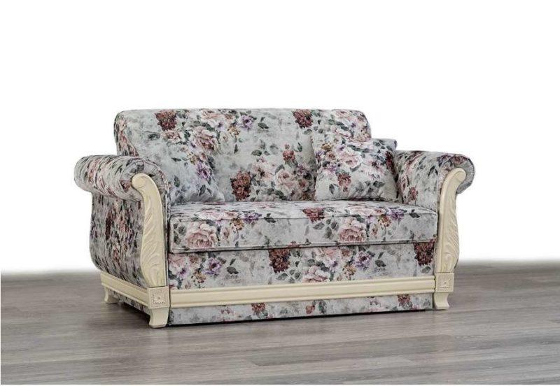 Белое раскладной кресло Талисман в стиле Прованс