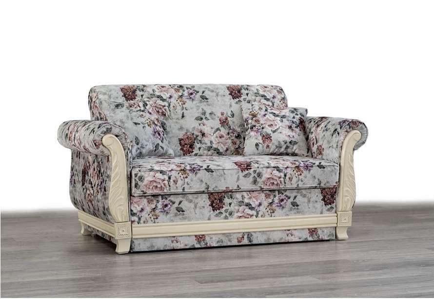 Белое раскладной кресло Талисман