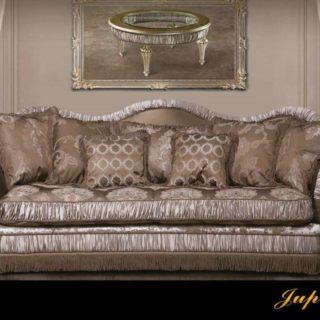 Элитный драпированный диван с креслами Юпитер