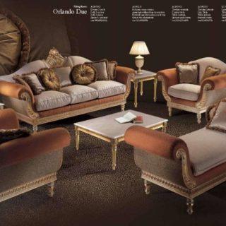 Классический комплект мягкой мебели Орландо. Италия.