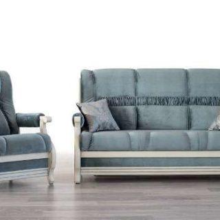Прямой элитный раскладной диван Лео. Мебус