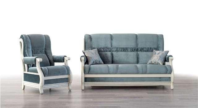 Элитный прямой диван раскладывающийся ЛЕО.