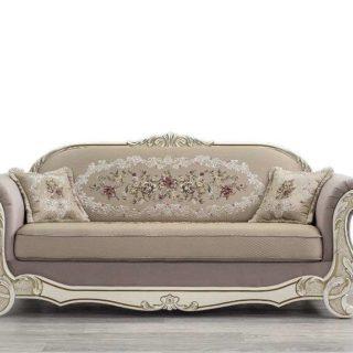 Мягкий резной классический диван Лира. Фабрика Мебус.
