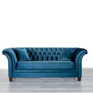 Большой мягкий диван Оскар в стиле Арт-Деко. Мебус
