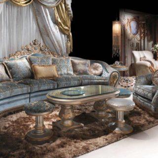Элитный резной итальянский диван BIJOUX