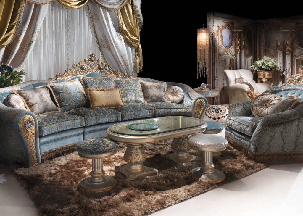 Комплект элитной итальянской мягкой мебели BIJOUX