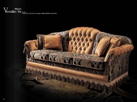 Классический дорогой диван вип класса Весаль