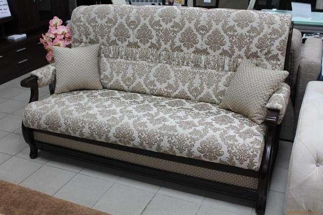 Раскладной диван в классическом стиле Лео