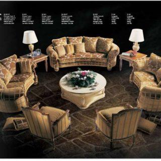 Большой набор мягкой мебели Арианна. Италия