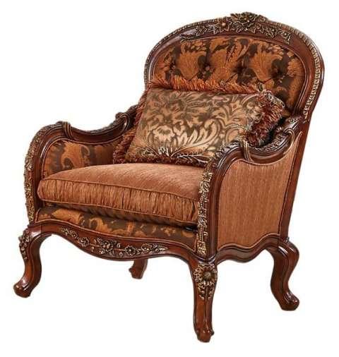 Классическое кресло с деревянными подлокотниками Маэстро (Аванти, Китай)