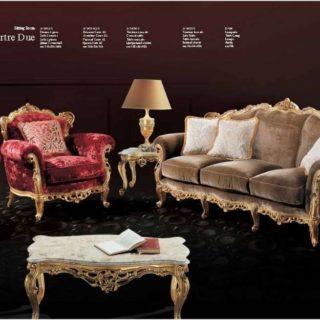 Классический элитный диван в стиле барокко Монмантре.