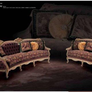 Дорогой элитный  диван с креслами Нотр Дам. Италия.