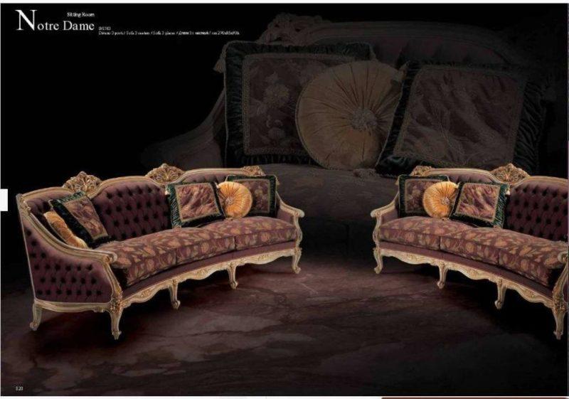 Дорого классический элитный диван Нотр Дам