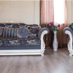 Классический раскладной диван Барон. Фабрика Мебус.