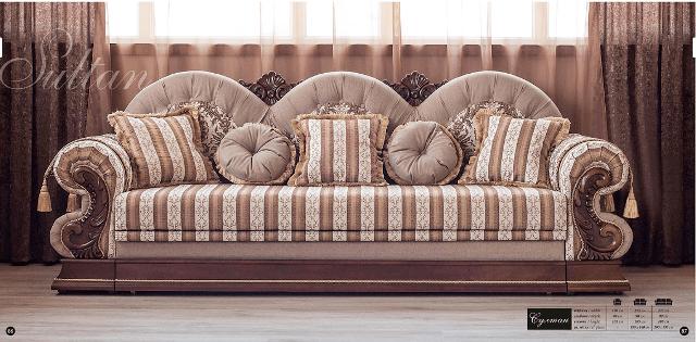 Трехместный диван Султан