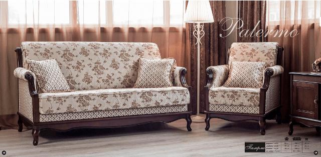 Мягкая классическая мебель Палермо.