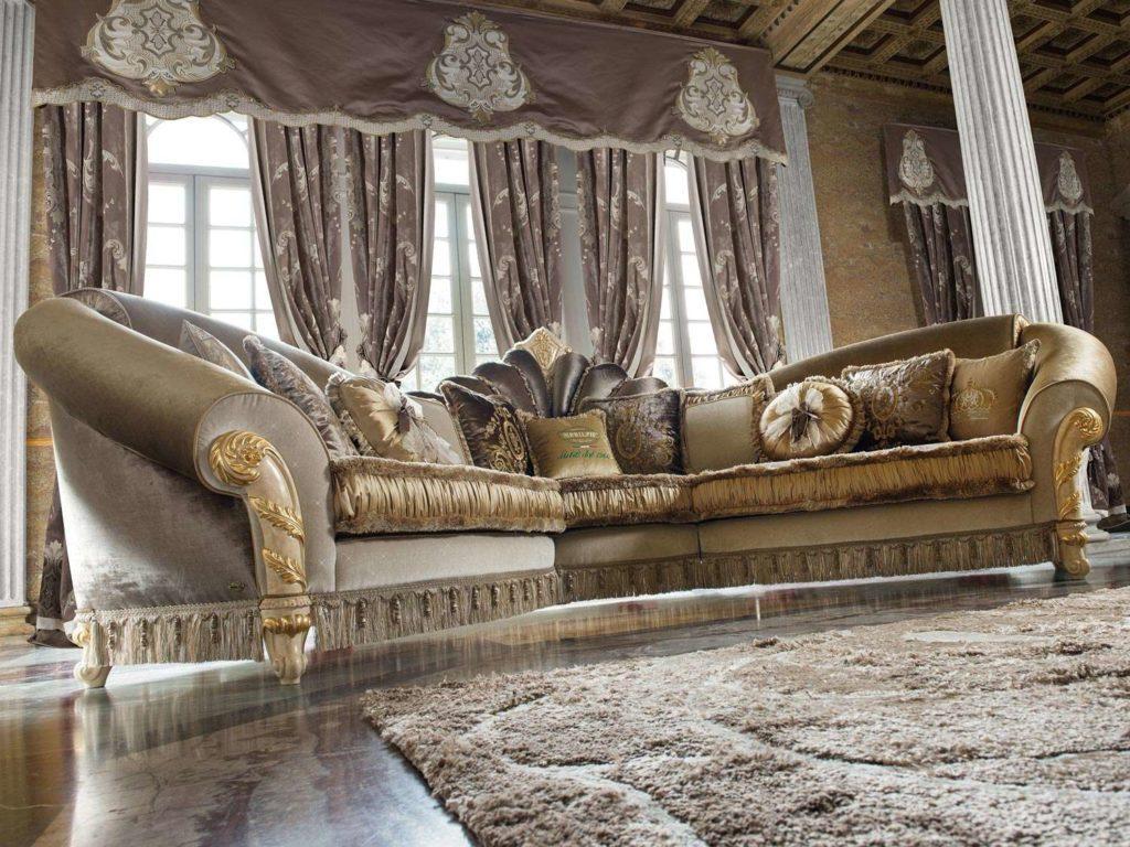 Королеский классический диван Мадам Роял.