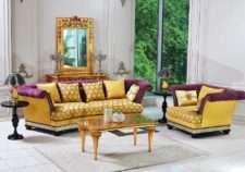 Дорогой классический диван в античном стиле Элисон