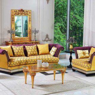 Классический диван Элисон в античном стиле.