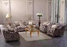 Большой мягкий диван Шервуд в классическом стиле
