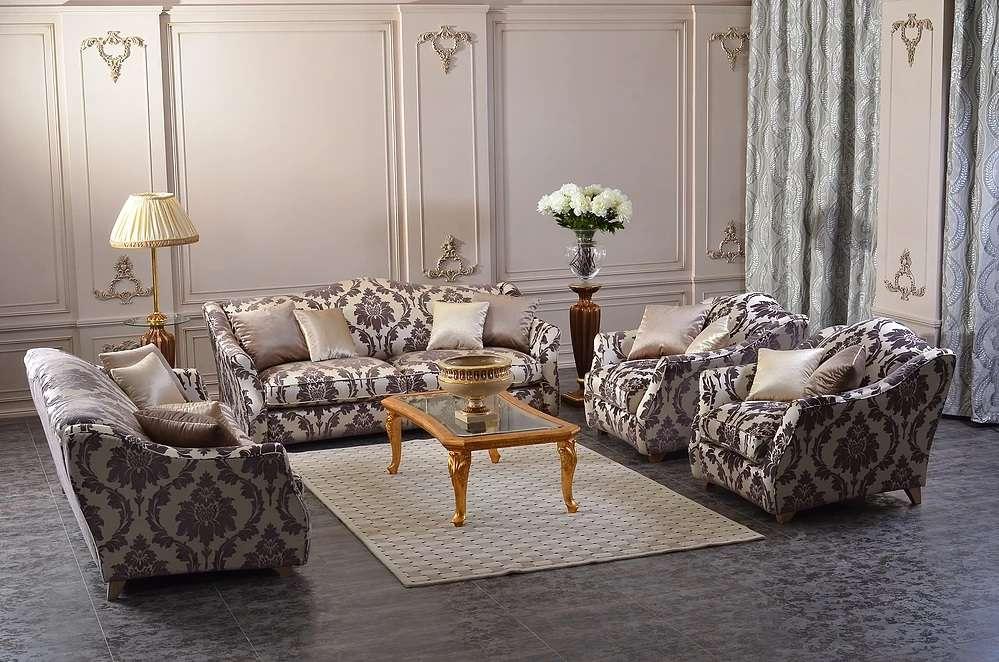 Мягкий комплект мебели Шервуд в классическом стиле