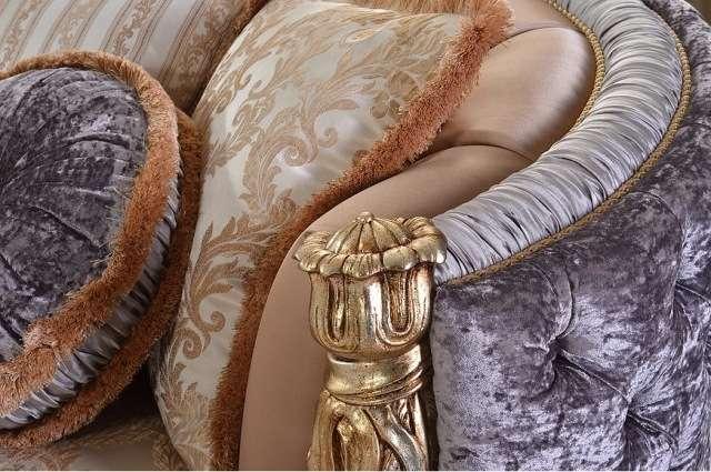 Ткани и обивки дивана т кресла Аззаро. Фабрика Гранд