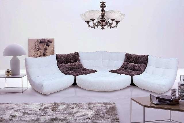 Угловой диван Континенталь в стиле модерн