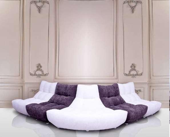 Модная модель радиального дивана Континенталь